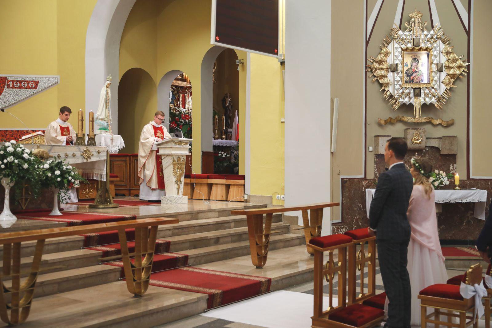 ślub w kościele Antoniego