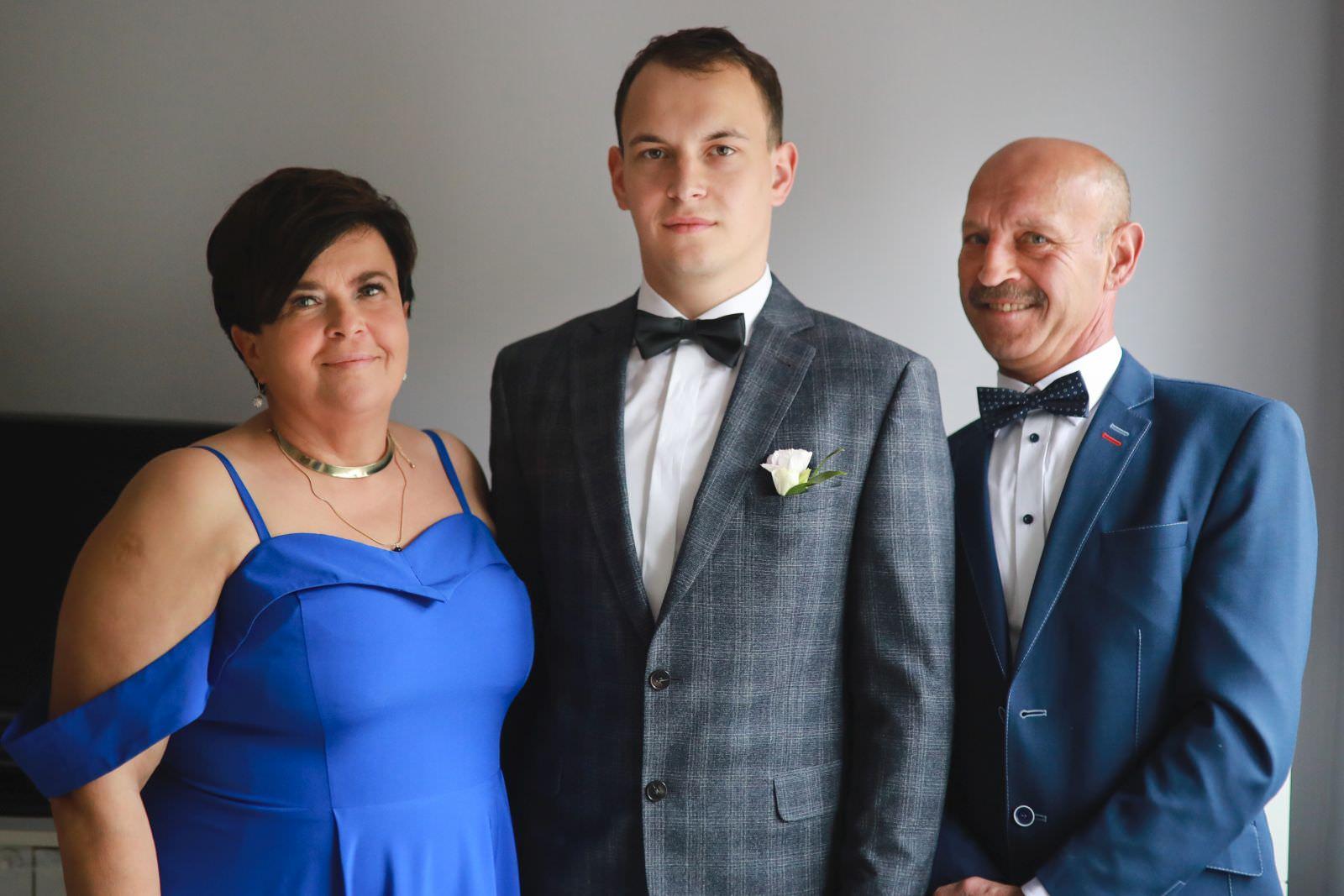 zdjęcie z rodzcami
