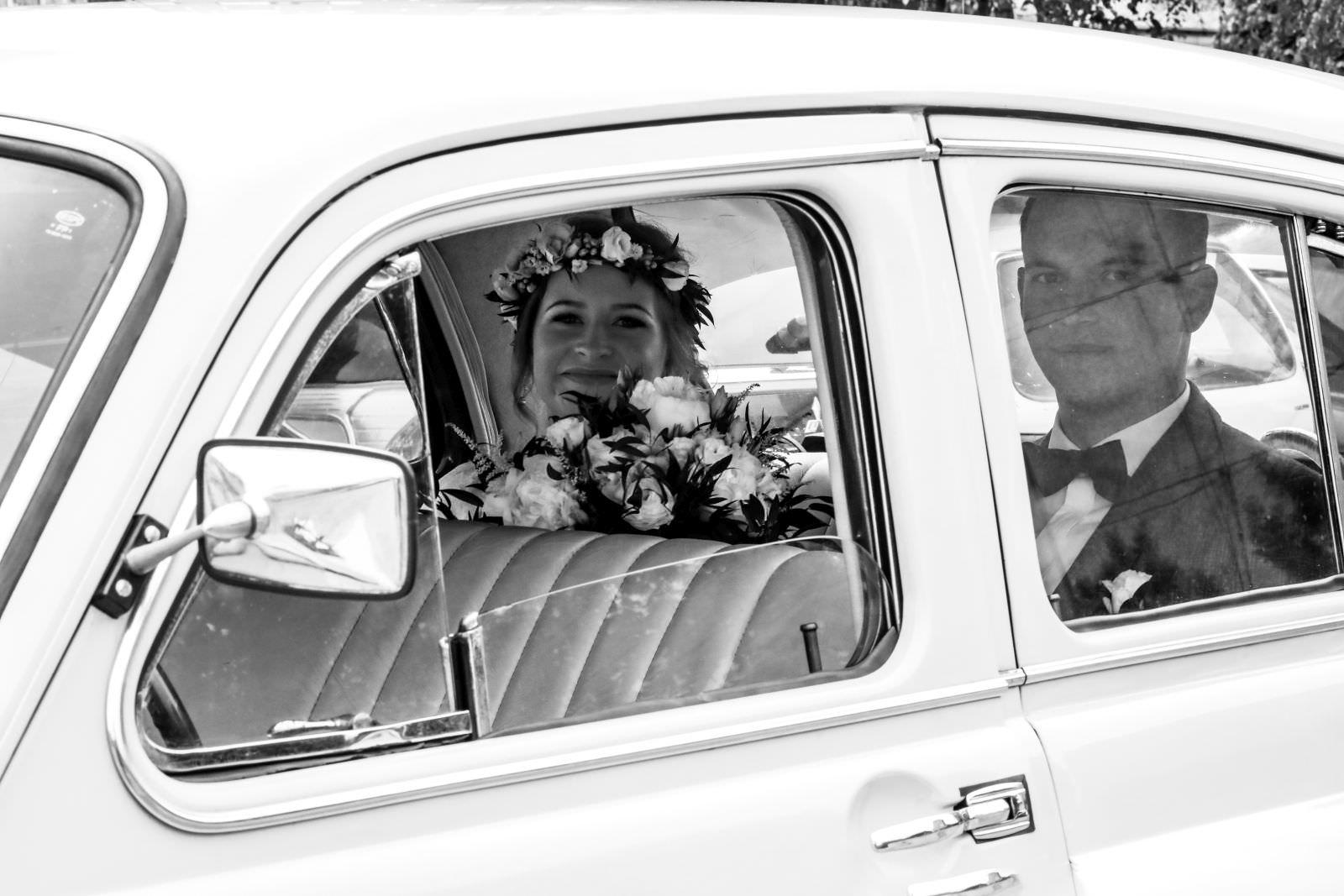 warszawa auto klasyczne do ślubu