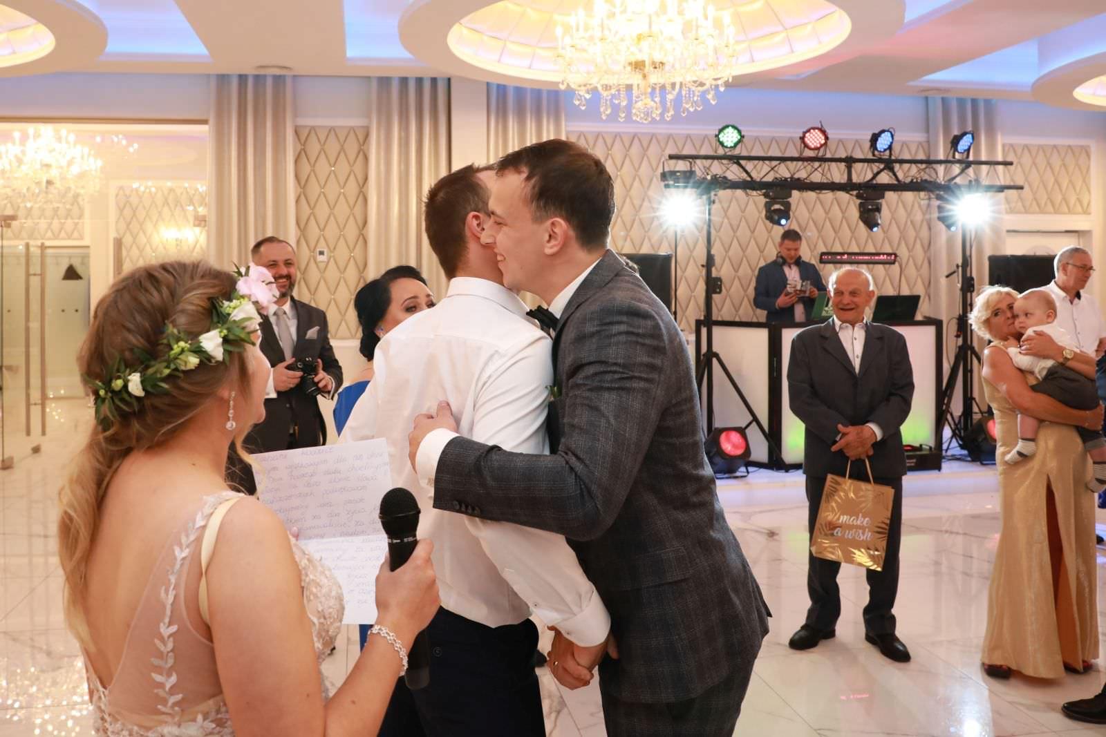 podziękowanie na ślubie dla dla świadków