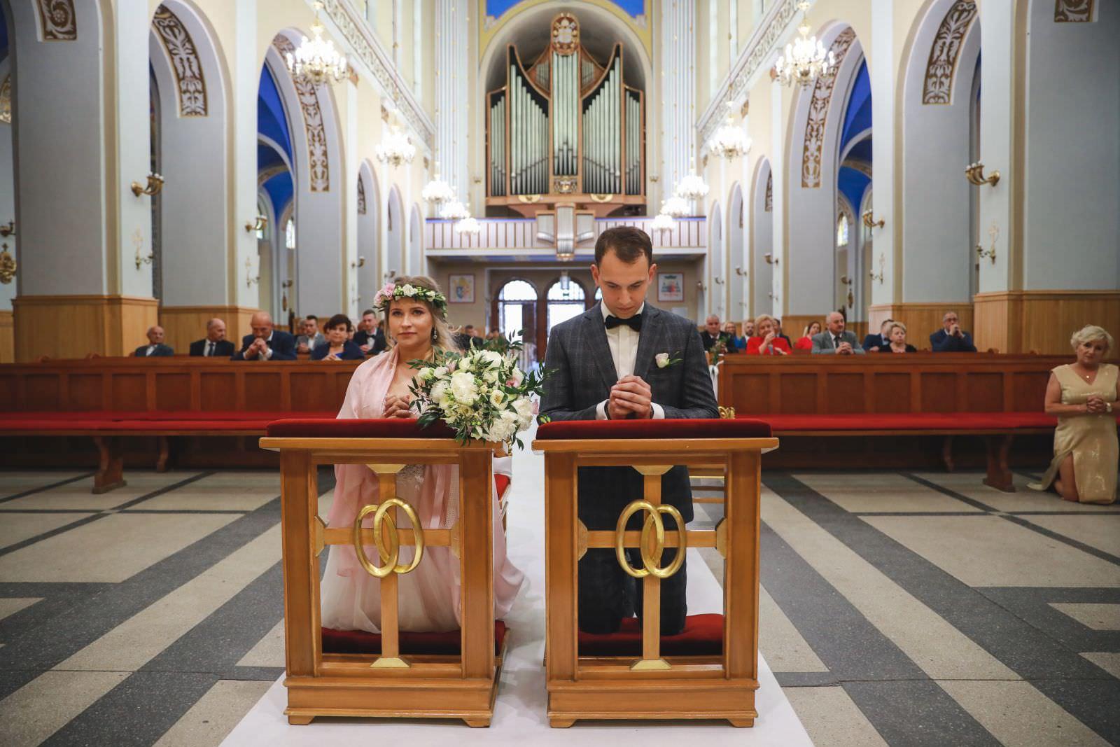 ślub w kościele św. Antoniego