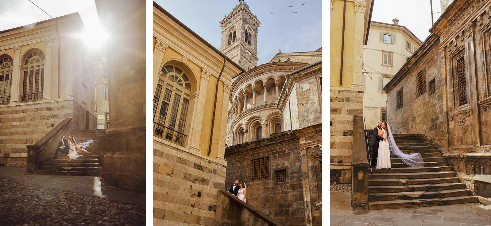 sesja ślubna Bergamo Włochy