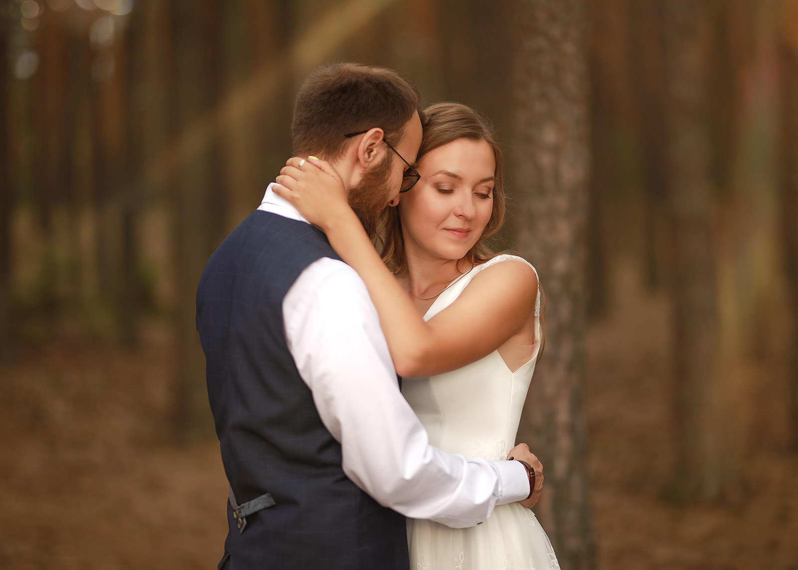 sesja poślubna Klaudii i Michała