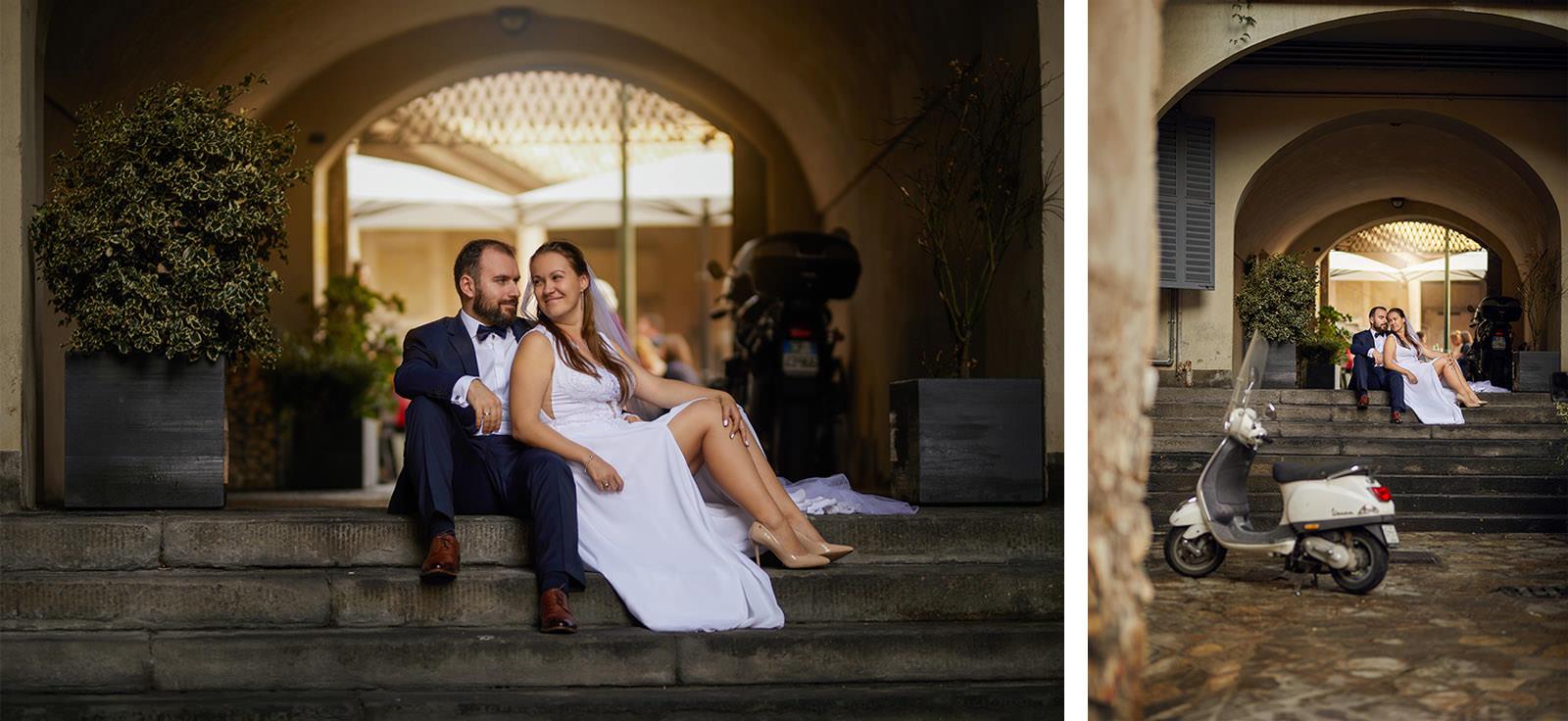 romantyczna sesja ślubna we Włoszech