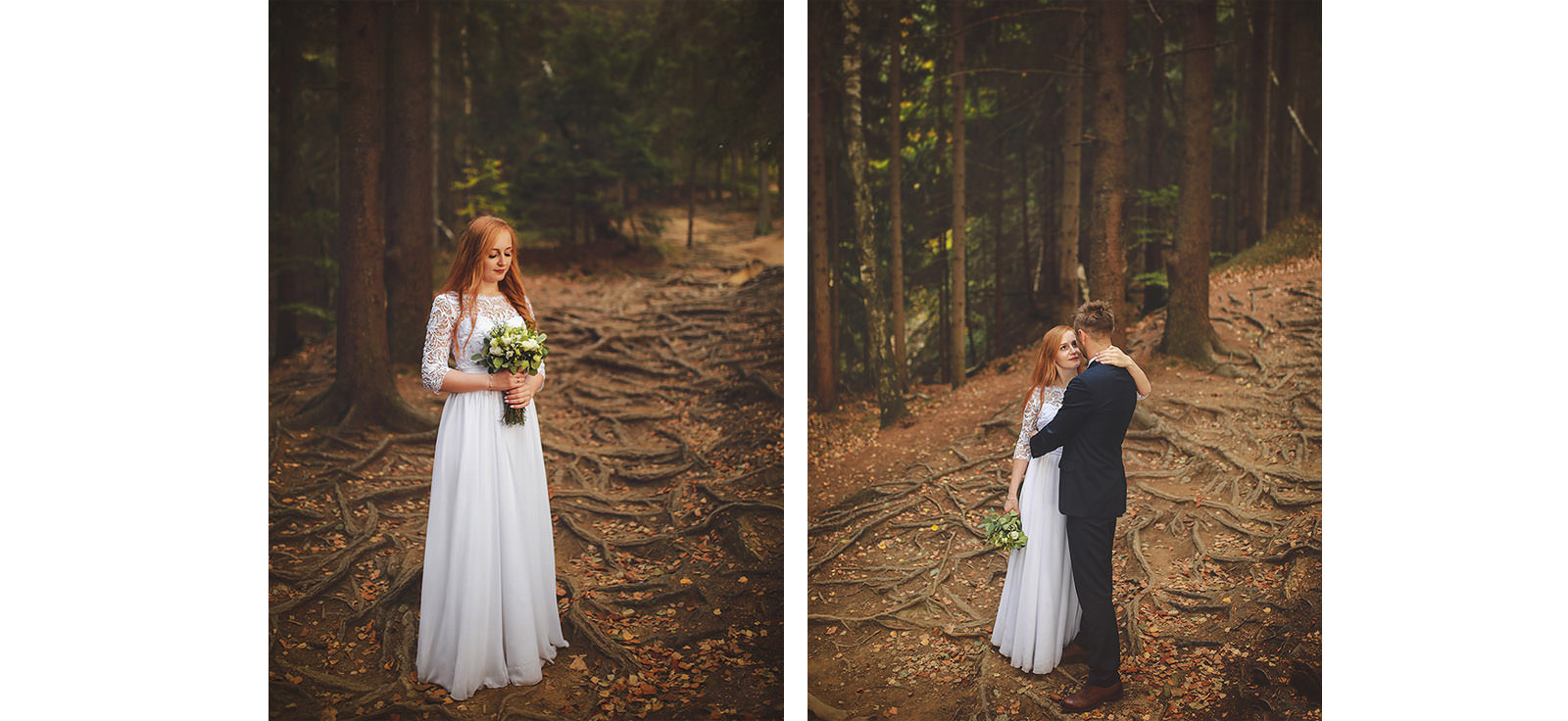 sesja ślubna Ani i Macieja w górach